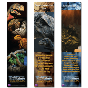 Walking With Dinosaurs Bookmarks