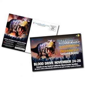 wwd blood bank postcards
