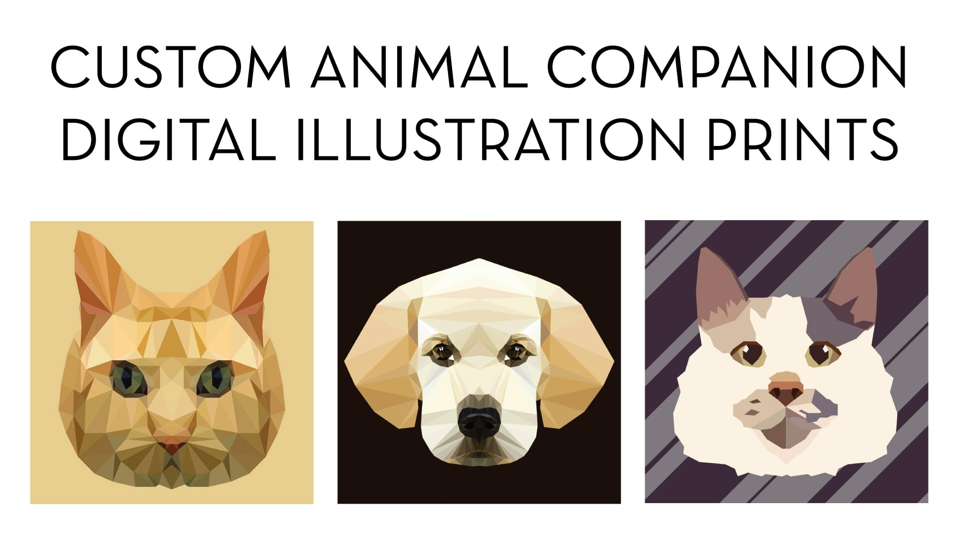 Custom Illustrations of your animal companions